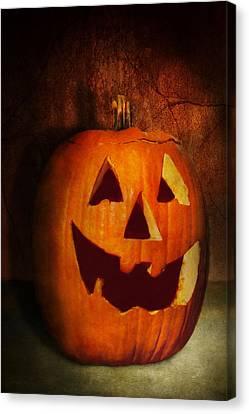 Autumn - Halloween - Jack-o-lantern  Canvas Print