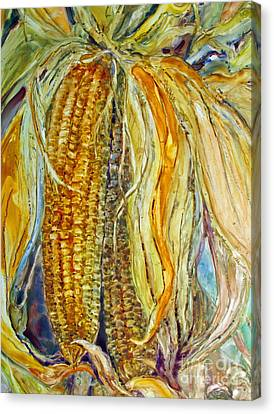 Autumn Harvest Canvas Print by Louise Peardon