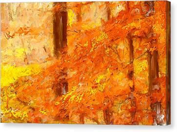 Autumn Impressions Canvas Print by Lourry Legarde