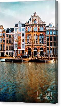 Autumn In Amsterdam  Canvas Print by Jacky Gerritsen