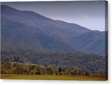 Gatlinburg Tennessee Canvas Print - Autumn In Cades Cove Tennessee by Dan Sproul