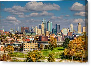 Autumn In Kansas City Canvas Print