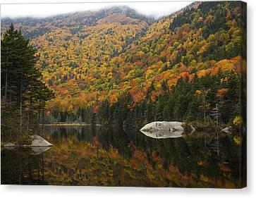 Autumn In Kinsman Notch Canvas Print by Chris Whiton