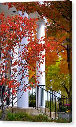 Autumn In Long Grove 2 Canvas Print by Julie Palencia