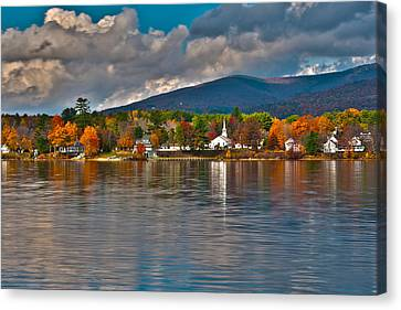 Autumn In Melvin Village Canvas Print