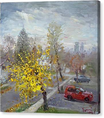 Mississauga Canvas Print - Autumn In Mississauga  by Ylli Haruni