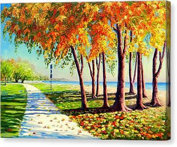 Autumn In Ontario Canvas Print