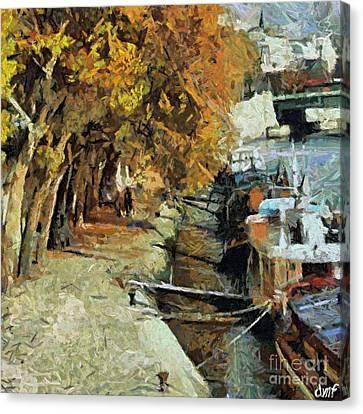 Autumn In Paris Canvas Print