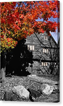 Autumn In Salem Canvas Print