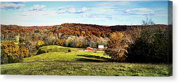 Autumn In The Country Canvas Print by Cricket Hackmann