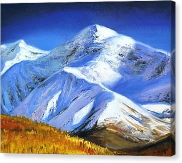 Autumn In The Mountains Canvas Print by Tatyana Myasnikova