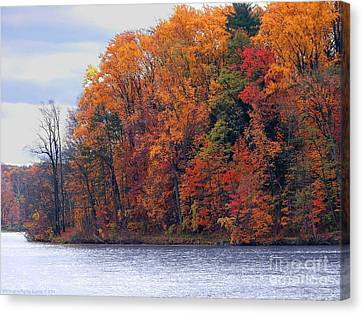 Autumn Is Upon Us Canvas Print by Gena Weiser