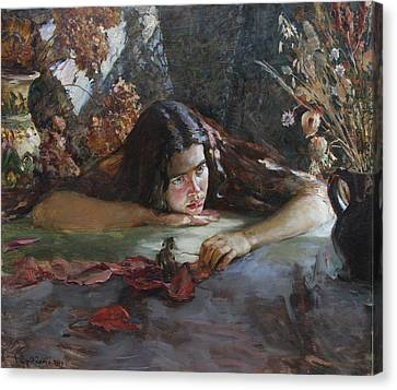 Autumn Canvas Print by Korobkin Anatoly