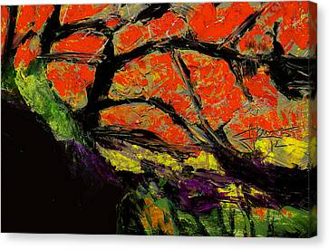 Autumn Landscape   Canvas Print by Jim Vance