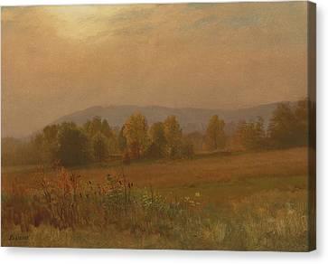 Autumn Landscape New England Canvas Print