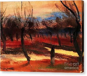 Autumn Landscape Canvas Print by Pg Reproductions