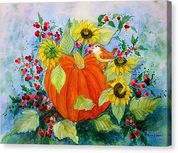 Autumn Canvas Print by Laura Nance
