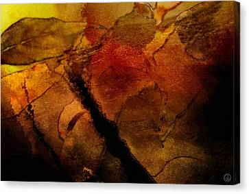 Autumn Leaves  Autumn Comes Canvas Print