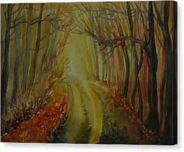 Autumn Light Canvas Print by Anna  Duyunova
