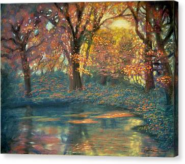 Autumn Light Canvas Print by Wade Starr