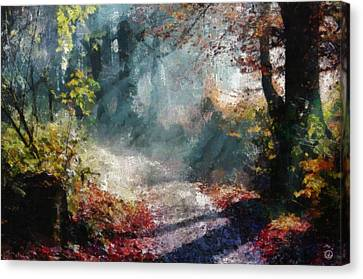 Autumn Memory Canvas Print by Gun Legler