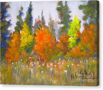 Autumn Canvas Print by Mohamed Hirji
