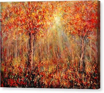 Autumn Canvas Print by Natalie Holland