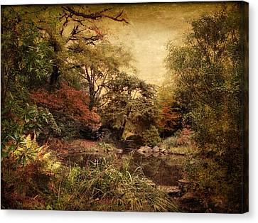 Canvas Print featuring the photograph Autumn On Canvas by Jessica Jenney