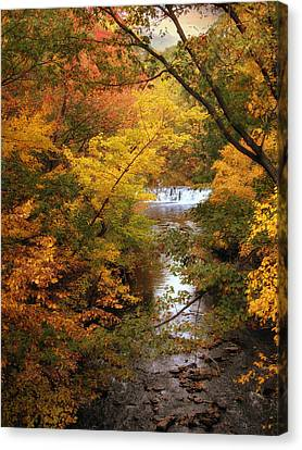 Canvas Print featuring the photograph Autumn On Display by Jessica Jenney