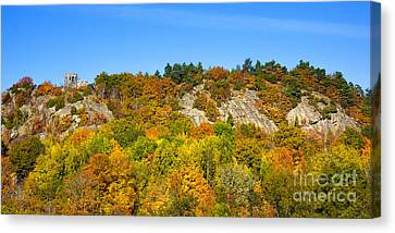 Autumn Panorama Canvas Print by Lutz Baar