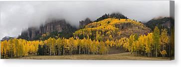 Autumn Panoramic Canvas Print