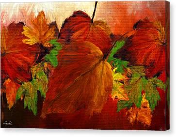 Autumn Passion Canvas Print by Lourry Legarde