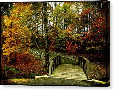 Canvas Print featuring the photograph Autumn Peace by James C Thomas