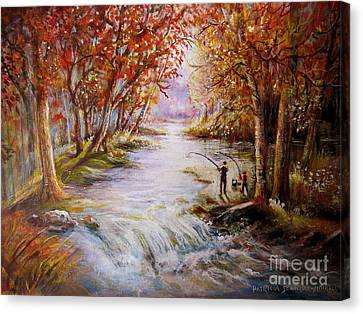Autumn Peace Canvas Print by Patricia Schneider Mitchell