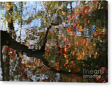 Autumn Reflections  Canvas Print by Neal Eslinger