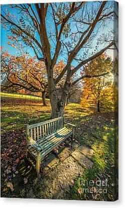 Autumn Rest Canvas Print by Adrian Evans