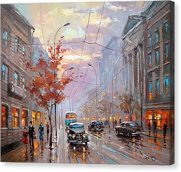 Autumn Rhapsody Canvas Print by Dmitry Spiros
