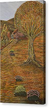 Autumn Sequence Canvas Print by Felicia Tica