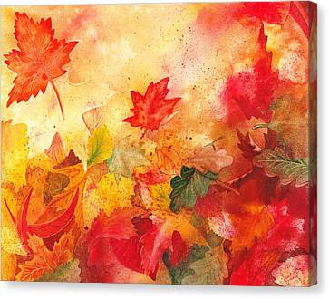 Autumn Serenade  Canvas Print by Irina Sztukowski