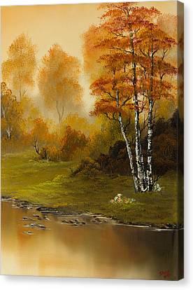 Autumn Splendor Canvas Print by C Steele