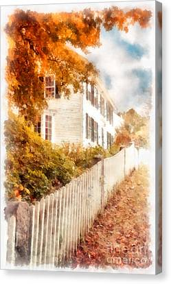 Autumn Splendor Canvas Print by Edward Fielding