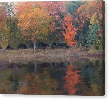 Autumn Splendor Canvas Print by Michael Malicoat