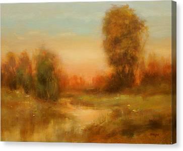 Autumn Splendor Canvas Print by Richard Hinger