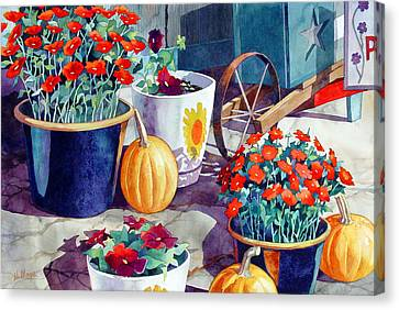 Autumn Still Life Canvas Print by Mick Williams