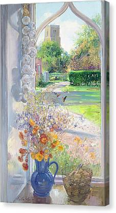 Autumn Still Life Canvas Print by Timothy Easton