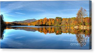 Autumn Sunrise At Price Lake Canvas Print