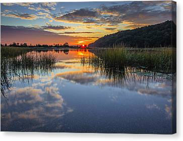 Autumn Sunrise Canvas Print