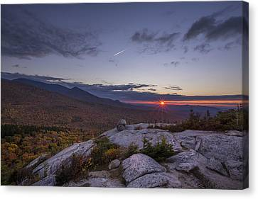 Autumn Sunset Over Sugarloaf Mountain Canvas Print