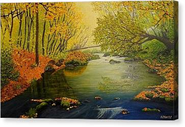 Canvas Print - Autumn by Svetla Dimitrova