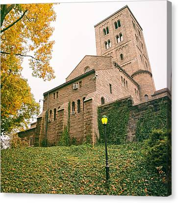 Cloistered Canvas Print - Autumn - The Cloisters - New York City by Vivienne Gucwa